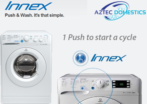Indesit Innex Push and Wash Button