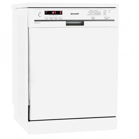 sharp dishwasher with slightly angled image