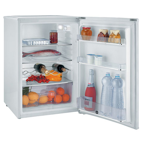 Hoover larder fridge with the door open