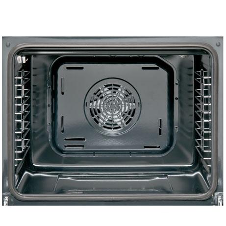 sharp oven interior