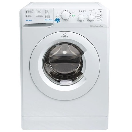 Indesit Washing Machine 6kg/1200rpm