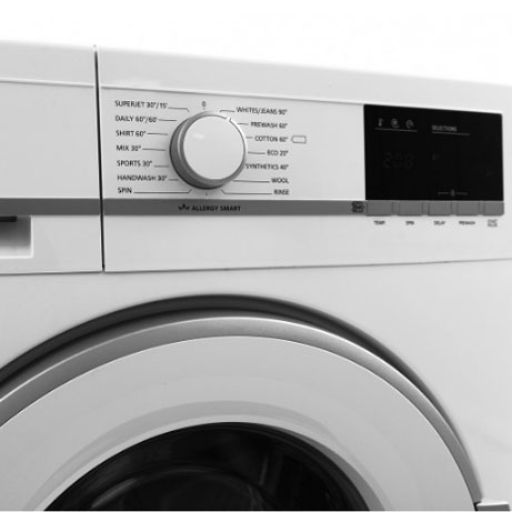 Sharp Washing Machine Display Panel Showing Cycles