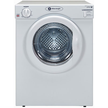 White Knight Compact Tumble Dryer - Vented