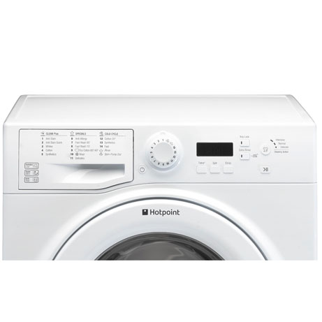 Hotpoint washing machine modern display panel
