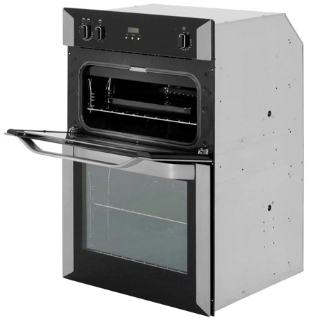 Belling built-in oven with the grill door open
