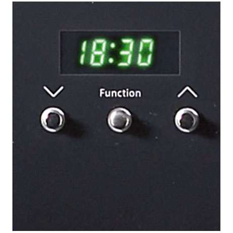 Belling single oven programmable clock