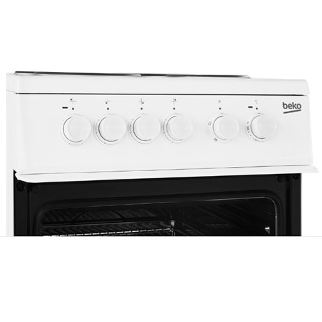Beko Freestanding Cooker top panel