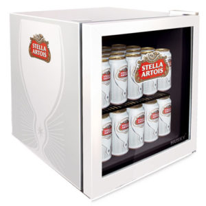 Stella Artois drinks chiller with glass door