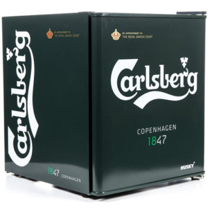 Carlsberg Drinks Chiller with the door closed
