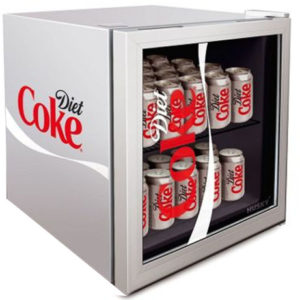 Diet Coke Drinks Chiller side angle