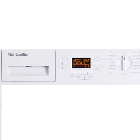 Montpellier integrated washing machine fascia panel