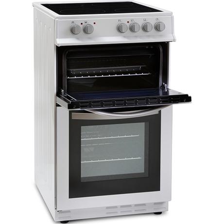 Montpellier freestanding cooker with the grill door open