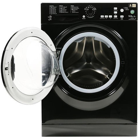 hotpoint washer dryer with the door open