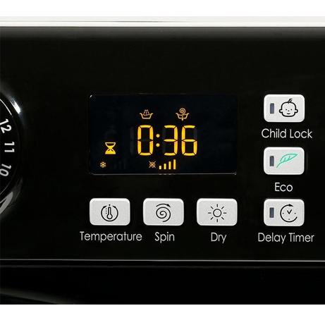 hotpoint washer dryer display panel