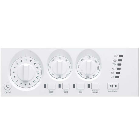 hotpoint integrated washing machine fascia panel