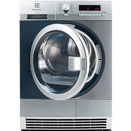 Electrolux Condenser Dryer (professional) with the door open