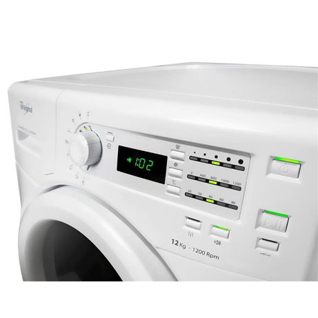 whirlpool commercial washing machine display panel