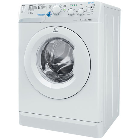 Indesit Washing Machine side angle