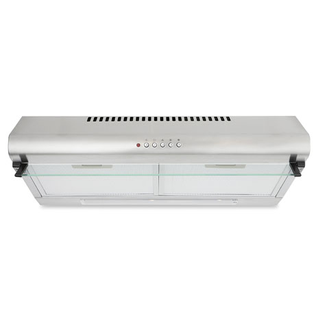 visor cooker hood stainless steel