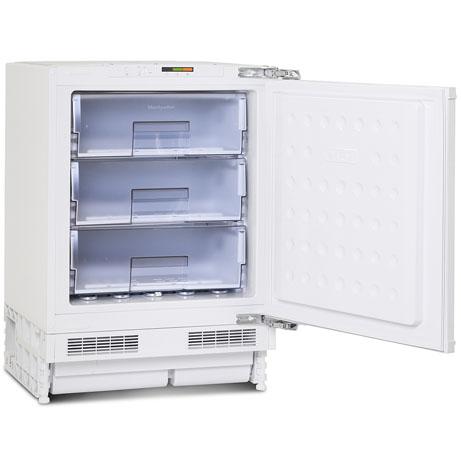 montpellier integrated freezer with the door open