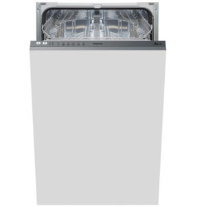 hotpoint integrated dishwasher - slimline