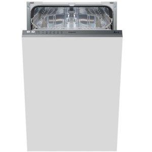 hotpoint integrated dishwasher - slimline