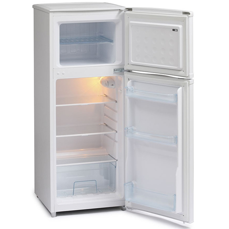 IceKing Fridge Freezer with the doors open