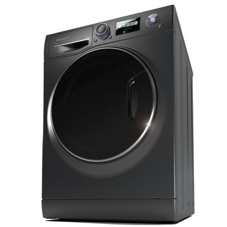 Hotpoint washing machine on an angle