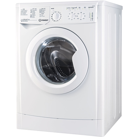 Indesit Washing Machine on an angle