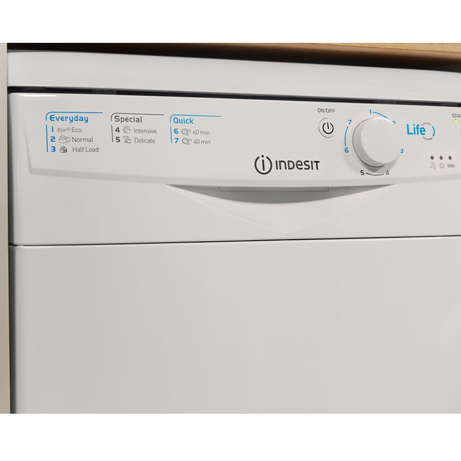 Indesit Slimline Dishwasher control panel