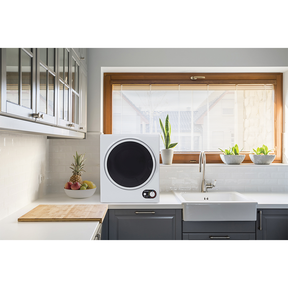 montpellier tumble dryer on a worktop