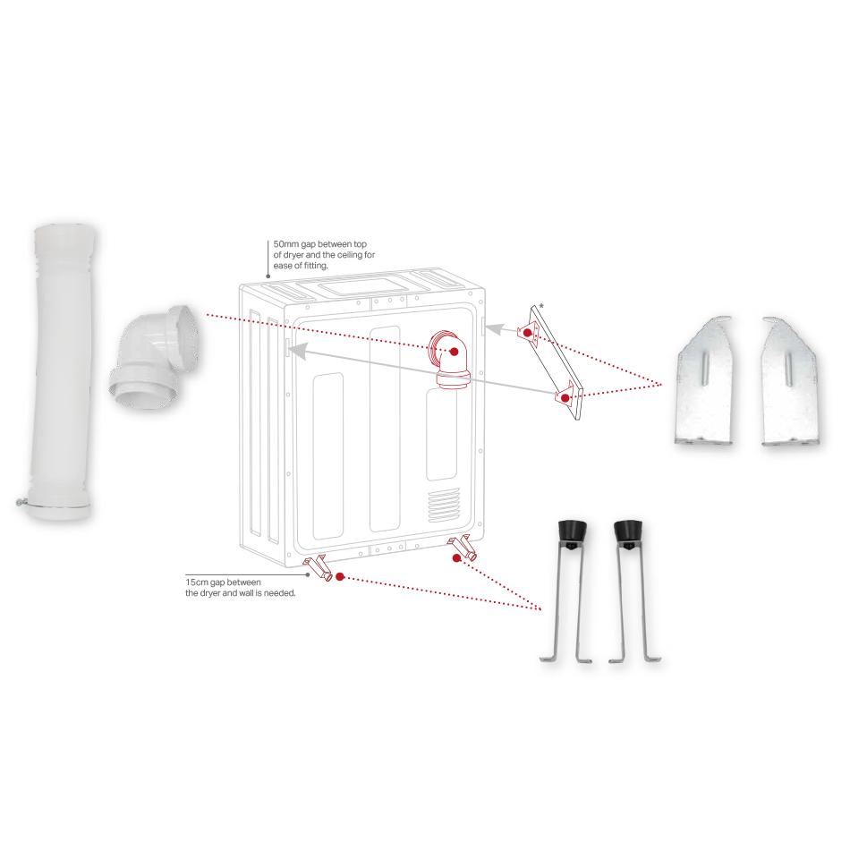 wall mounting kit