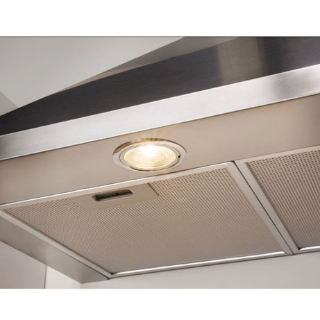 Indesit Cooker Hood light and filter close view