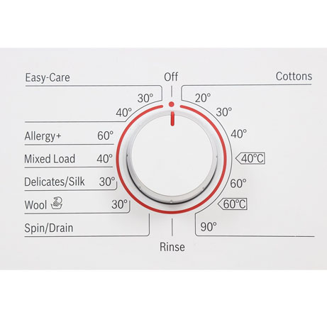 Bosch Washing Machine program dial
