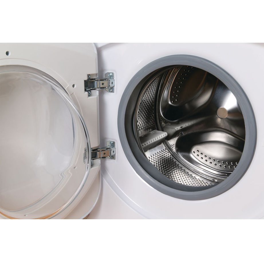 Integrated Washer Dryer with the door open