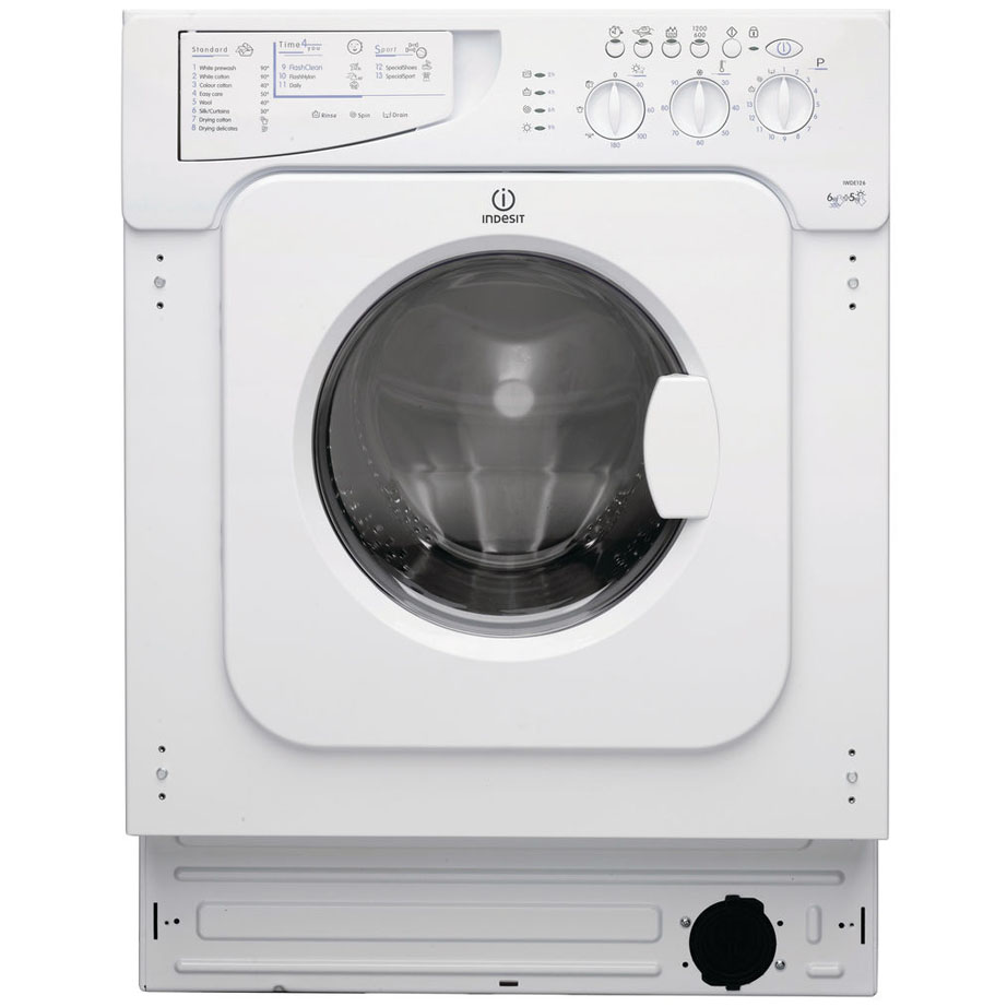 Indesit Integrated Washer Dryer 6kg/5kg 1200RPM