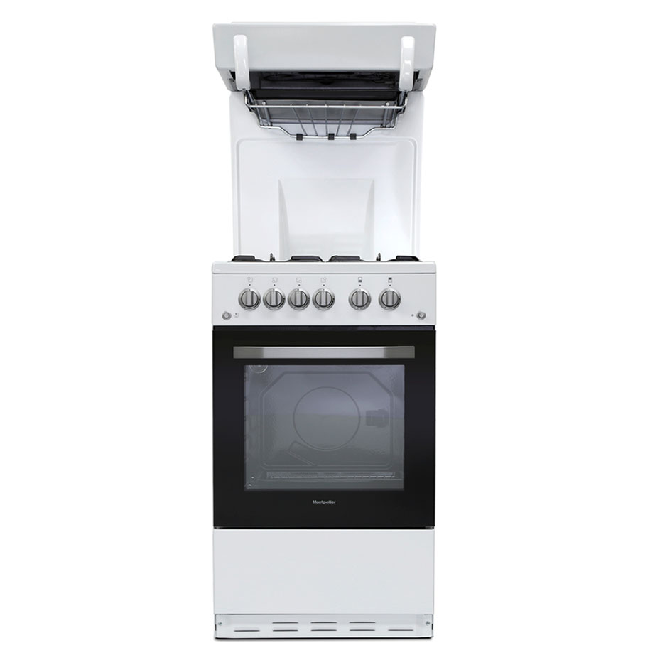 Montpellier cooker with eye level grill