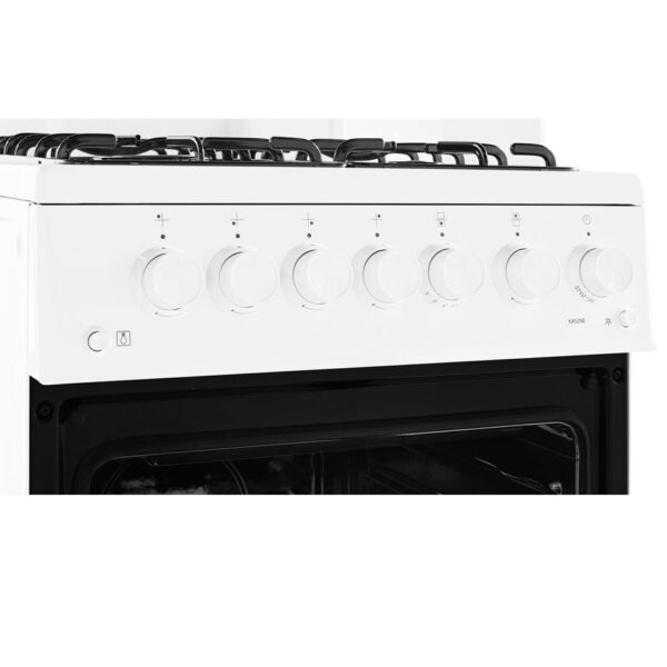 Beko Gas Cooker With Eye Level Grill fascia panel