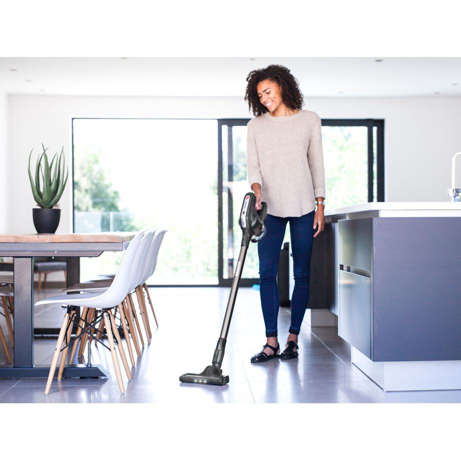 Hoover Cordless Vacuum Cleaner on tiled floor