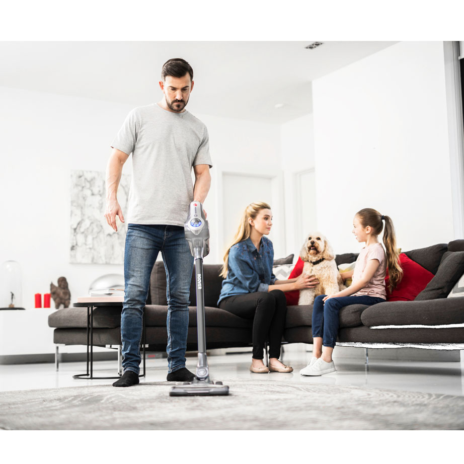 Hoover Cordless 'Pets' Vacuum Cleaner on carpet