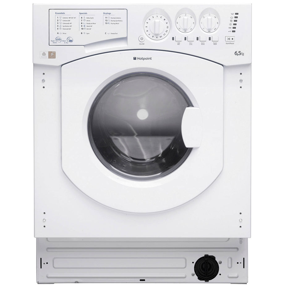 Hotpoint Integrated Washer Dryer 6.5kg/5kg 1200RPM