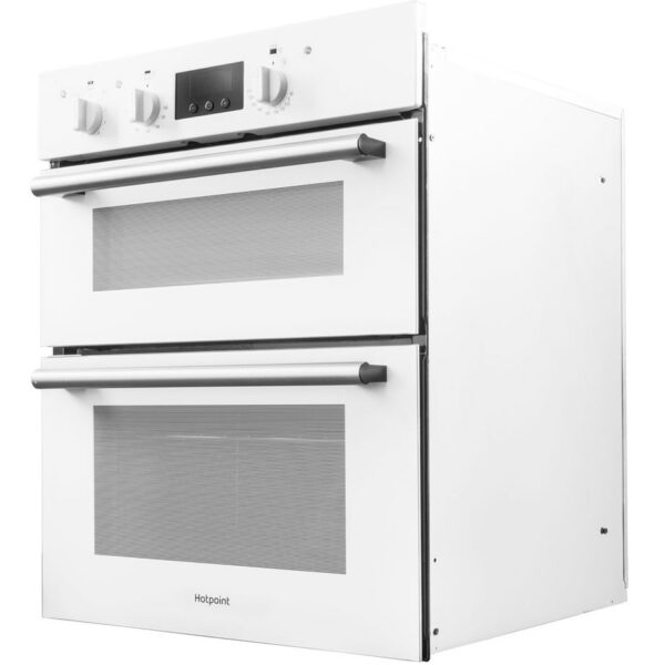 Hotpoint built under double oven on an angle