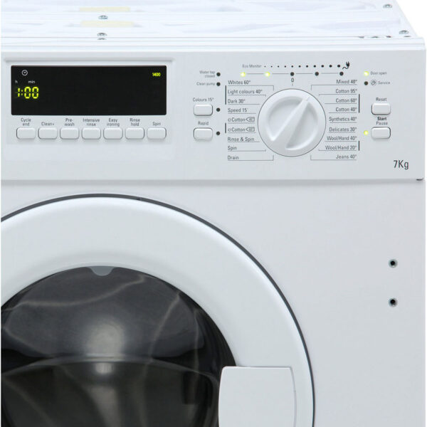 Integrated Hotpoint Washing Machine control knob