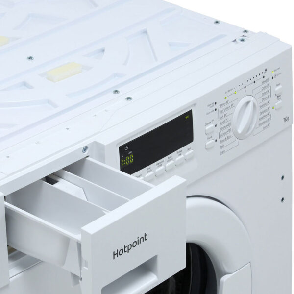 Integrated Hotpoint Washing Machine soap drawer