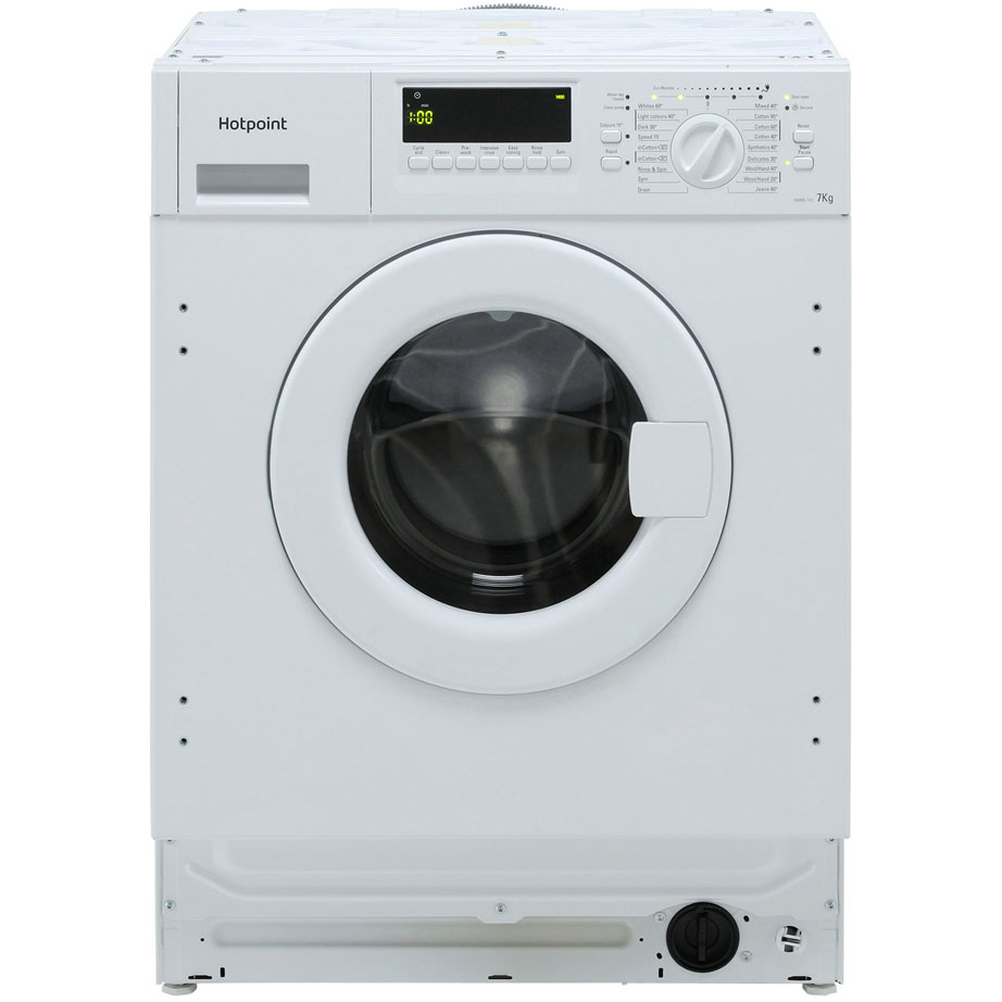 Hotpoint Integrated Washing Machine 7kg/1400rpm