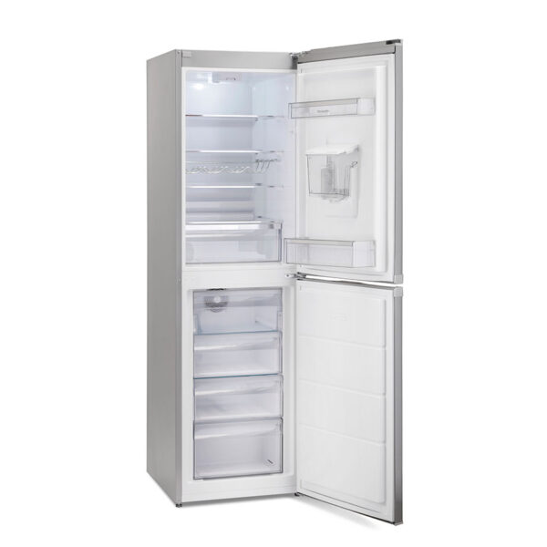 Montpellier Fridge Freezer with the doors open and empty