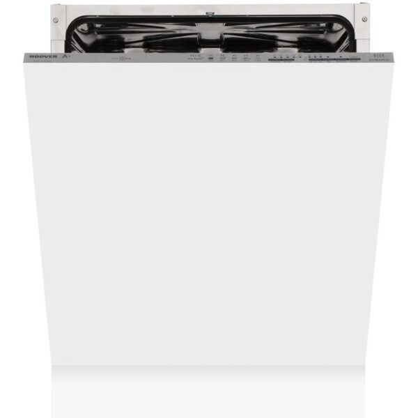 Hoover Integrated Dishwasher with the door partially open