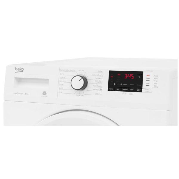 Beko Washing Machine 9kg/1400rpm control panel