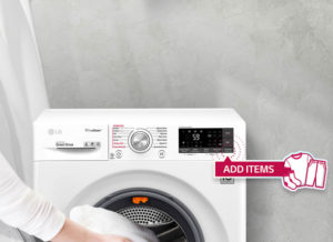 LG washing machine add wash