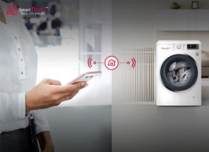 LG washing machine smart thinq